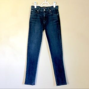 James Jeans Twiggy Bombshell Dark Wash 15670 Sz 28